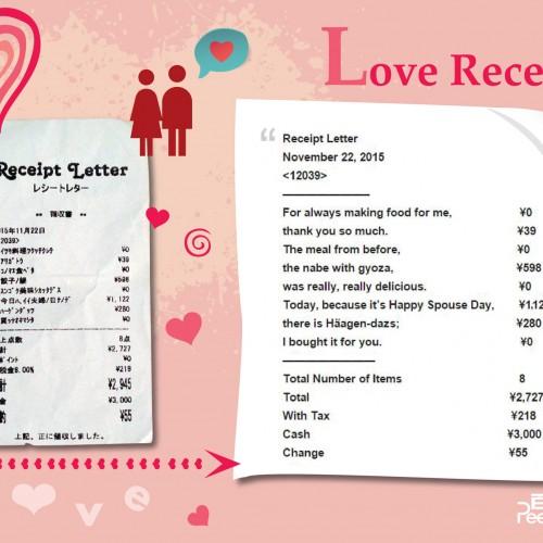 兩公婆感情昇溫秘方:自製「愛的收條」