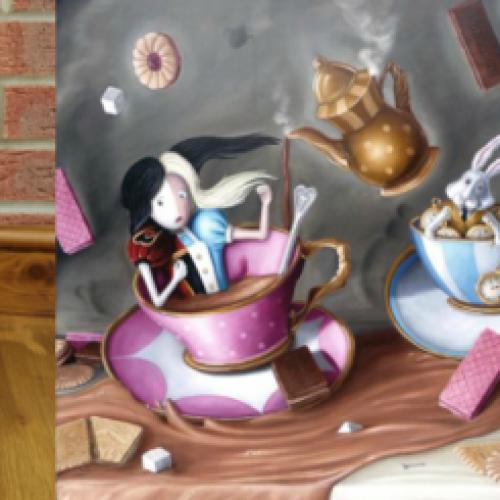 愛麗絲夢遊仙境150週年黏土創作比賽 2015-16 [截止報名:1月31日]