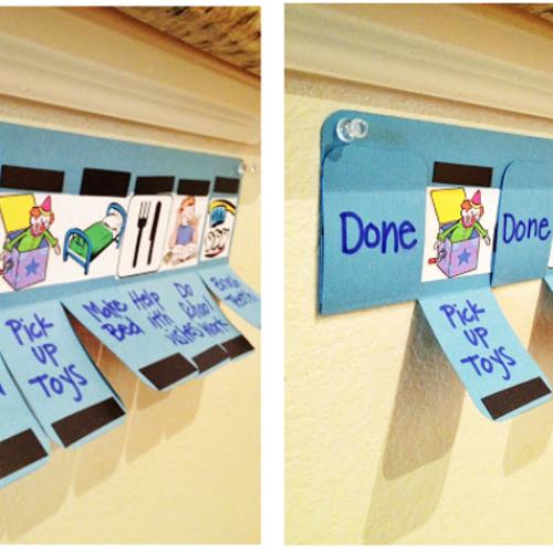 「To-do & Done任務」遊戲.幫小朋友學自理