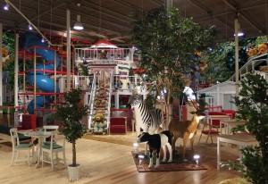 東京「動物餐廳遊樂場」‧親子好玩好食: )