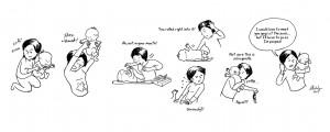 10張圖.盡訴新手媽媽樂與苦