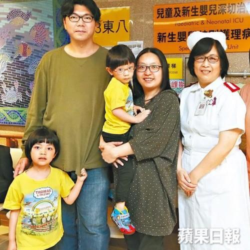 廣華心理小組 助早產B父母減壓
