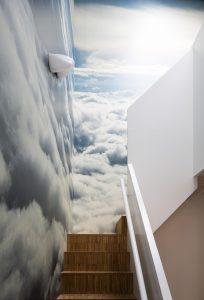 丹麥「天馬行空」遊戲室.小朋友「攀上雲端」