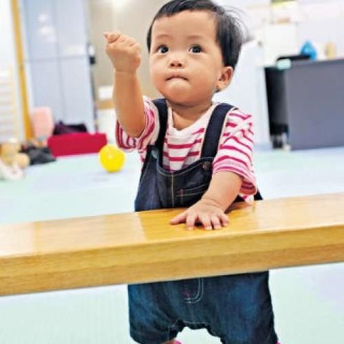幼兒踏出第一步 刺激腦部發展