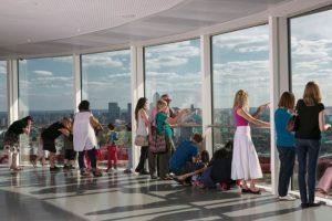 倫敦奧運塔 塔頂遠眺倫敦全景 景觀靚到暈
