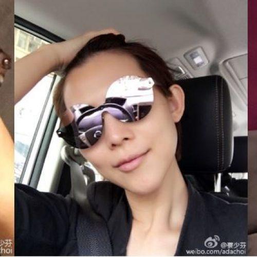 靚媽蔡少芬‧與囡囡「黑超」迎夏日