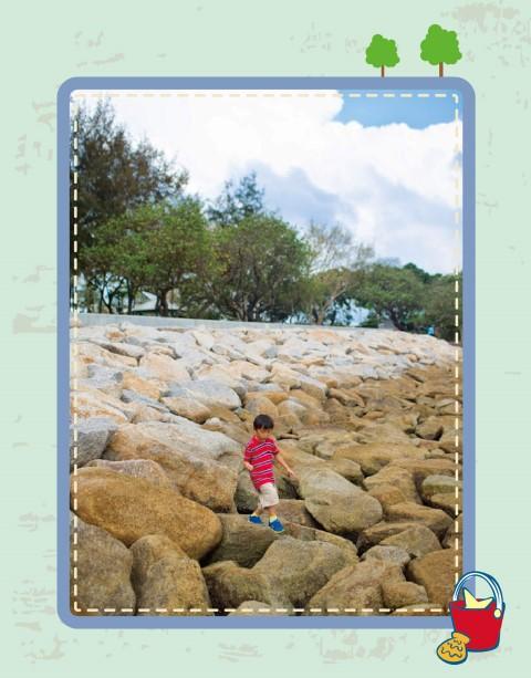 周末好去處 : 蝴蝶灣公園石灘