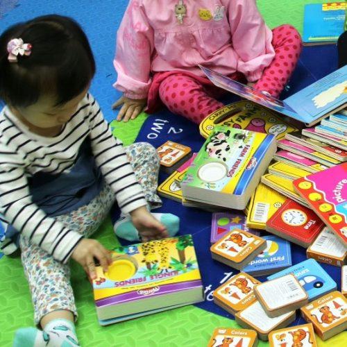 兒童「專屬漂書區」‧「交換圖書」由1,000本開始