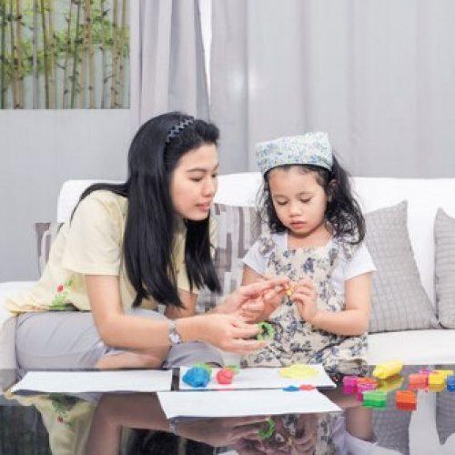 家設藝術治療區 疏導孩子情緒