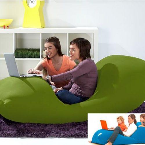 變型sofa‧超角度「坐」「瞓」「玩」