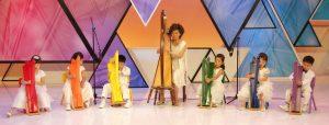 親子活動 : 豎琴音樂班 - 完成課程有機會參加學生音樂會演出