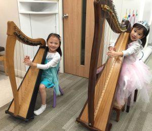 親子活動 : 豎琴班試堂體驗