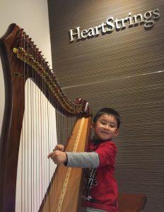 親子活動 : 豎琴音樂班 - 有班制及私人教授課程