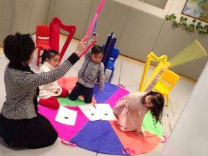 親子活動 : 豎琴音樂班