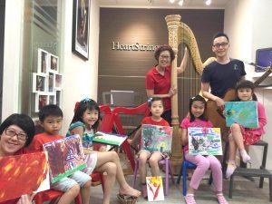 親子活動 : 豎琴音樂班 - 透過有趣味環境培養音樂基礎
