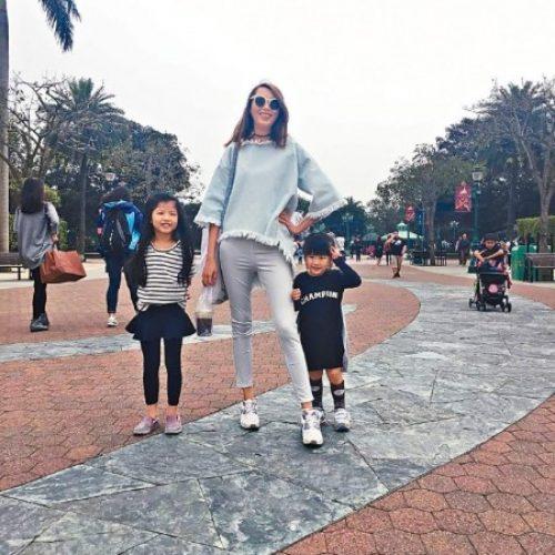 三母女過得好開心 趙頌茹搞網購養家