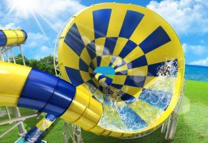 全球首創「Monster Slider超巨喇叭滑梯」x日本最大水陸樂園