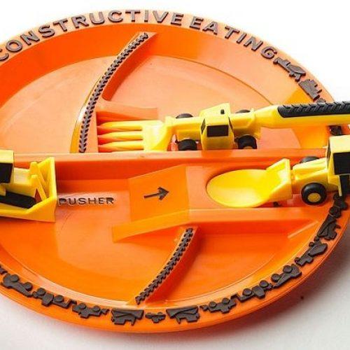 「有建設性」餐具‧推動幼兒「自己食」