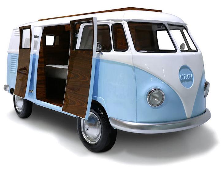 """限量版""""Volkswagen""""小朋友床"""