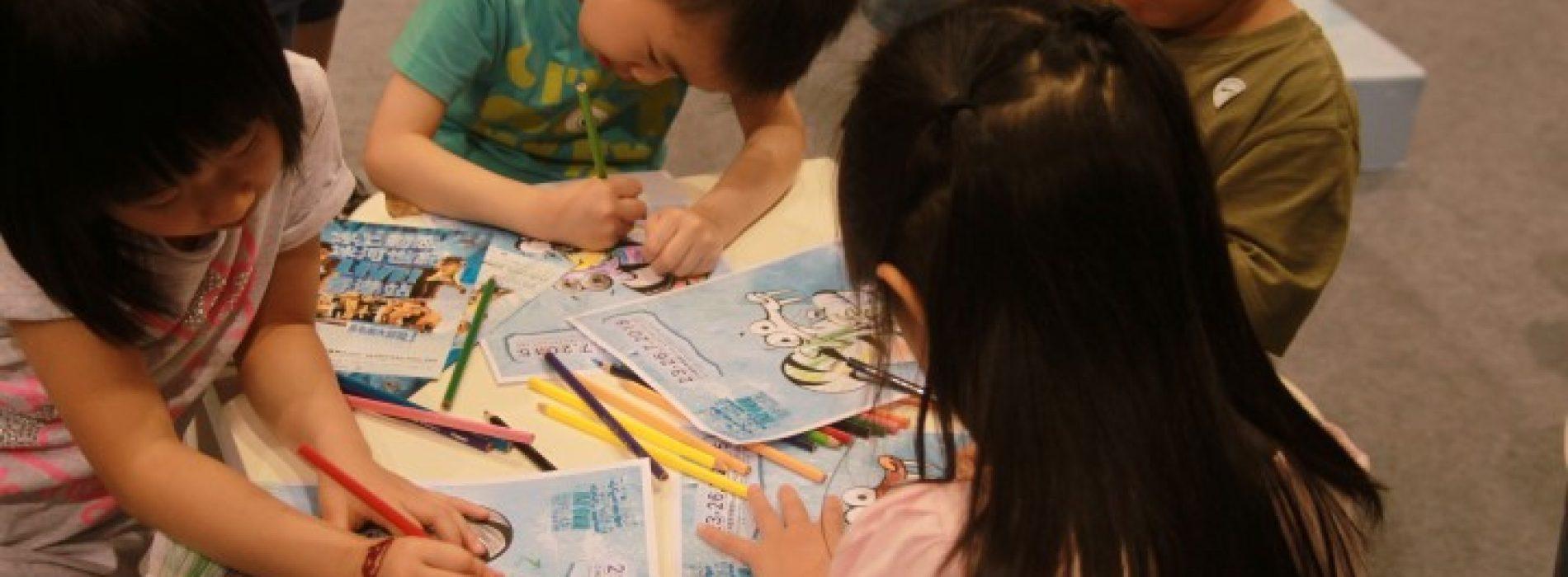 以親子繪畫活動‧ 訓練孩子語言能力