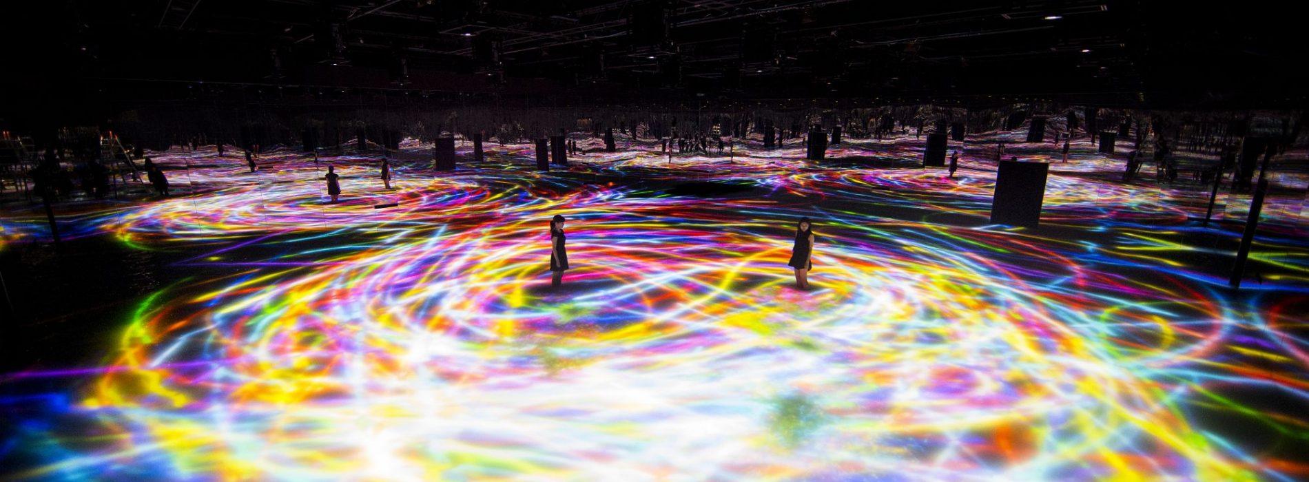 親子「玩變化」.日本超炫「電子祭典」