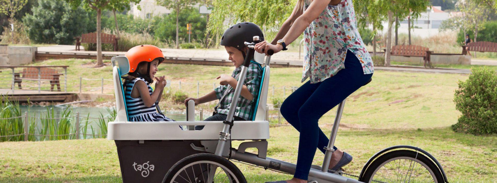 可載3童單車.一家大細「遊車河」