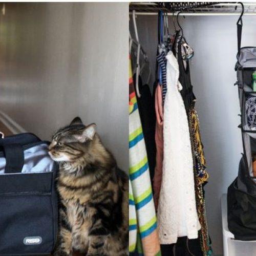 行李箱一拉變「衣櫃」.「自動分類」超方便