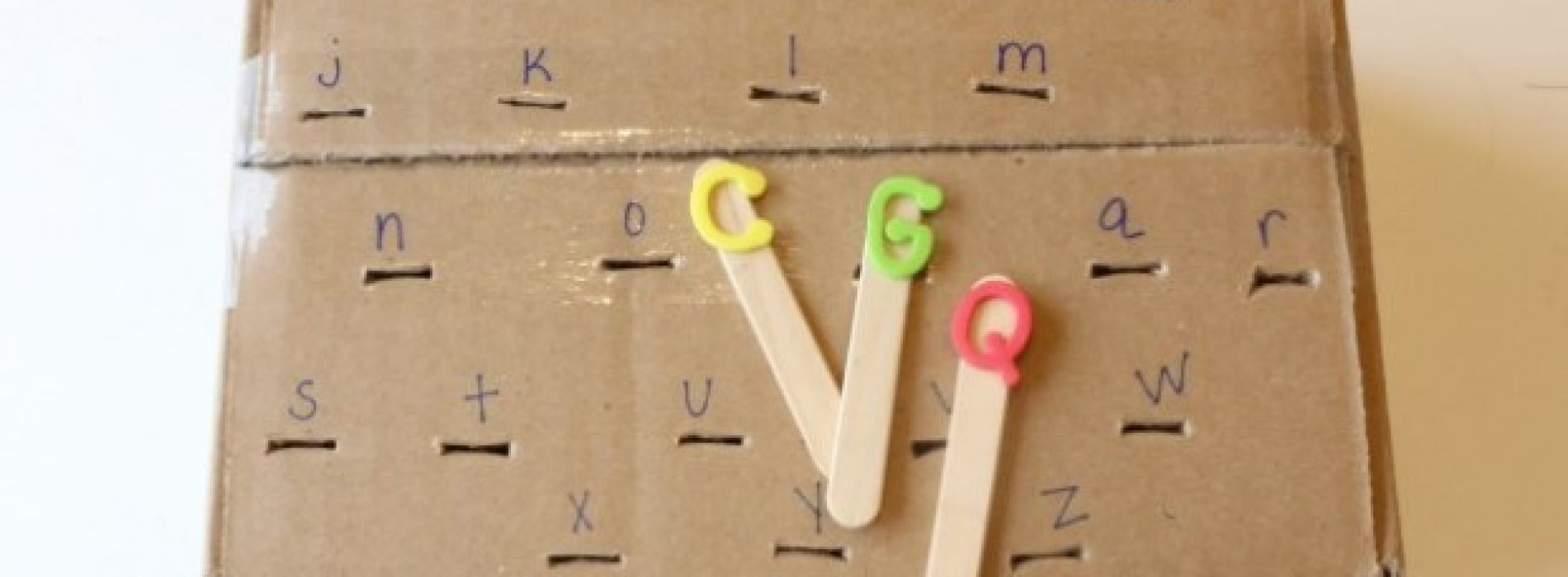 幼兒學「英數基礎」‧由「做手工」開始