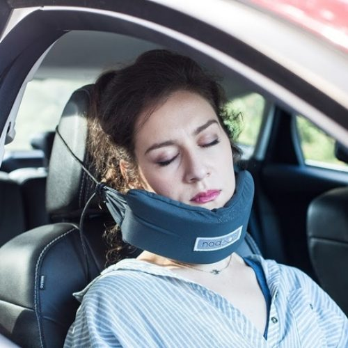 「NodPod豆袋枕」.坐車舒服瞓覺覺