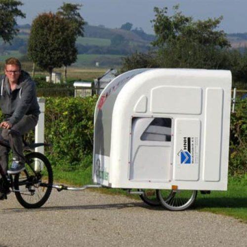 單車+露營車2合1.嘆住去郊遊