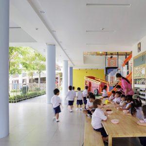 泰幼稚園兩層高室內遊樂場.讓小朋友「玩到底」