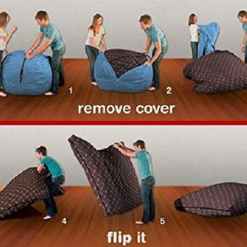 「豆袋櫈」變「大床」‧ 空間大轉移