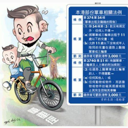 家長接載隨時出事‧兒童腳踝易捲單車輪受傷