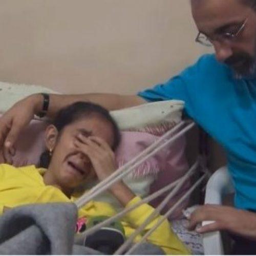 敘女童被炸斷腳 哭問: 我的腳會再長出來嗎?
