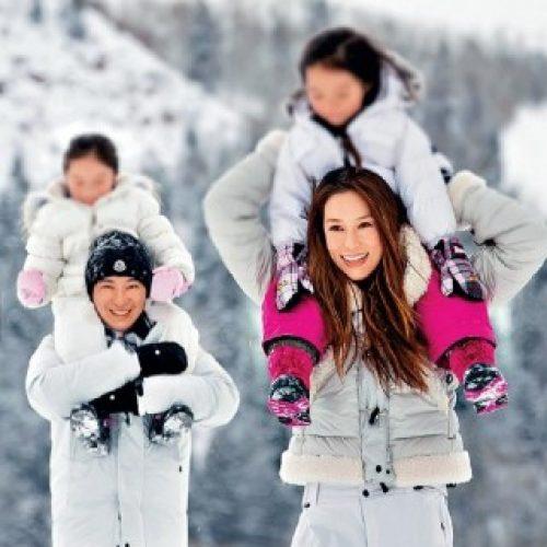 分享溫馨家庭旅行照 徐子淇親子齊撐善舉