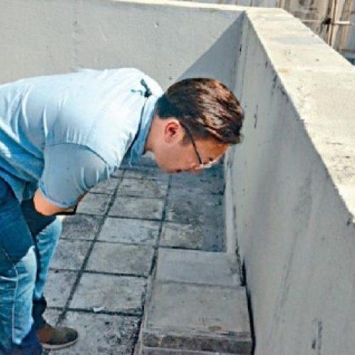與十歲女天台玩耍 女童涉攀圍牆失足墮斃