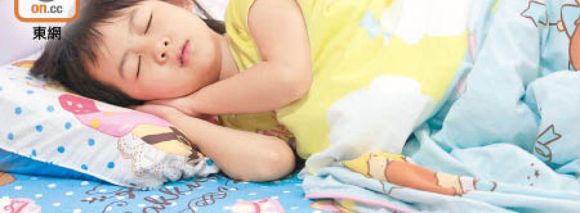 兒童睡得少 會多吃易胖