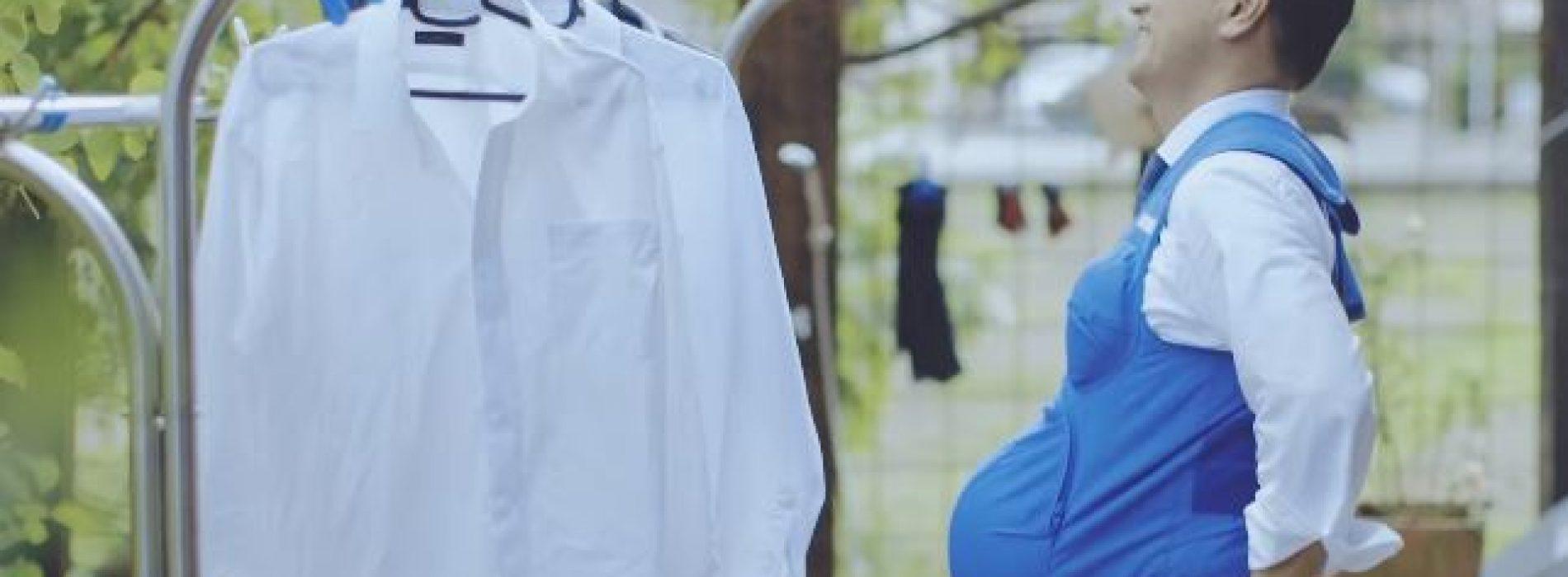 日本男穿7.3公斤「孕婦背心」‧ 體驗孕婦辛勞