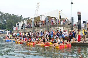 白沙灣慈善小艇賽+合家歡市集+攤位@西貢