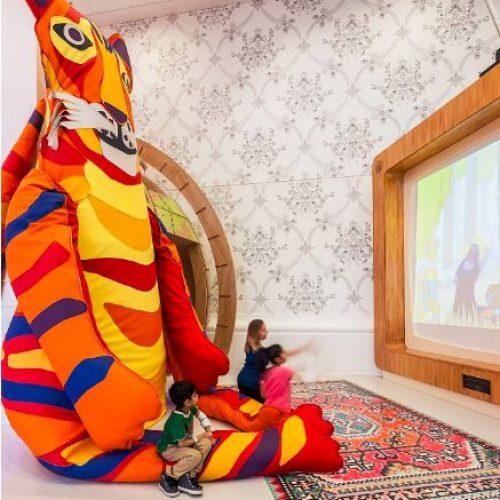 """倫敦兒童醫院‧""""巨型老虎"""" 是良藥"""