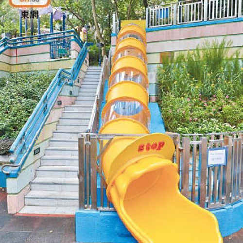 香港公園長滑梯「重現」