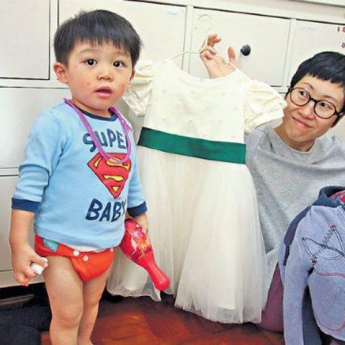環保媽媽愛堅持 用尿布不嫌煩