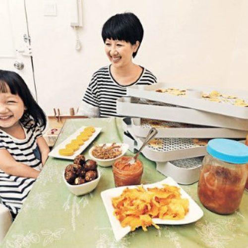 為女兒設計食物 媽媽廚房愛天然