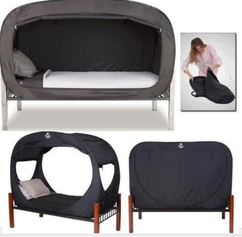 超型pop up「床篷」‧隨時收納、「玩匿埋」