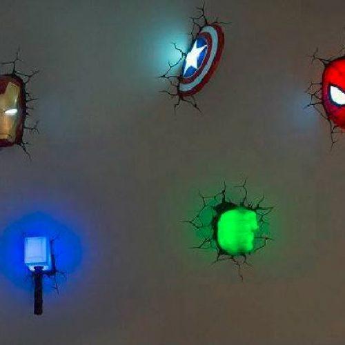 兒童房必備‧Super Hero 型燈