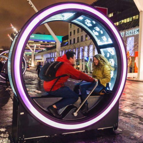 親子踩「13巨輪」+「滾軸」童話.加拿大冬季限定