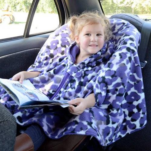 Car seat「連體披肩」‧ BB唔怕冷襯