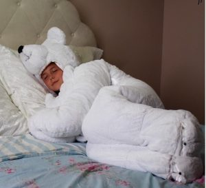 """北極熊睡袋‧唔怕小朋友""""走被"""""""