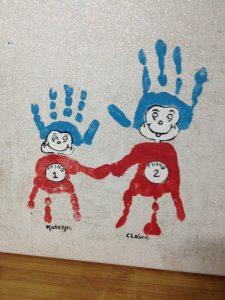 手印印、腳踩踩.好玩親子印畫