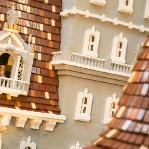 50萬粒Lego砌城堡 重現《美女與野獸》經典場面